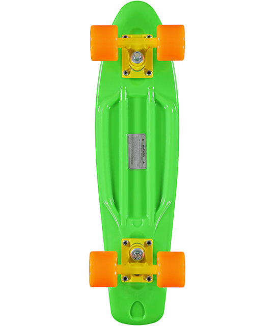 Retro Skateboards Green, Orange, & Yellow 22.5