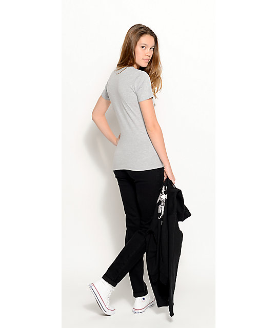 Rewash Vintage Reunion Black Destroyed Skinny Jeans