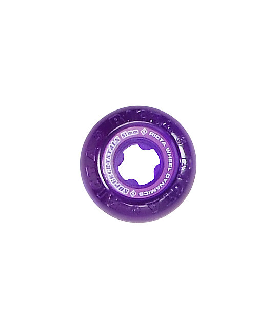 Ricta 51mm Purple Supercrystal Skateboard Wheels
