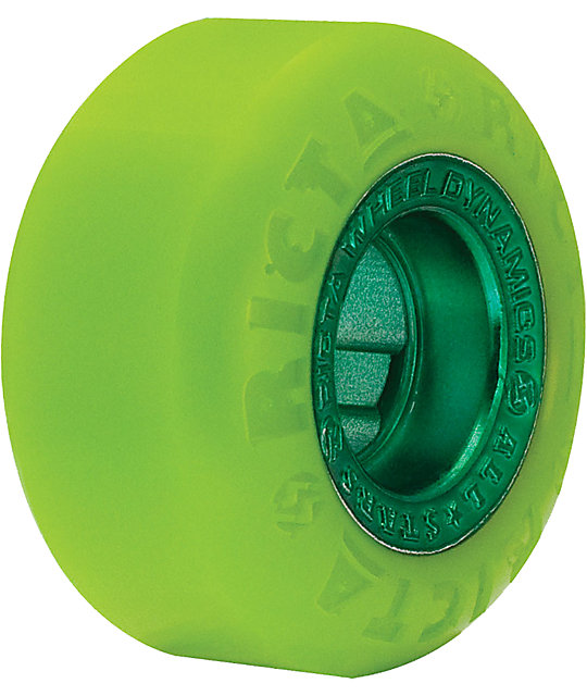 Ricta All Star Green 54mm Skateboard Wheels