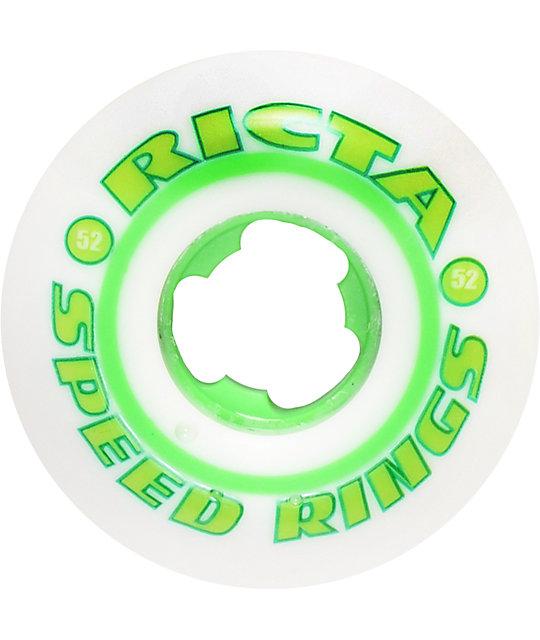 Ricta Speedrings Green 52mm Skateboard Wheels