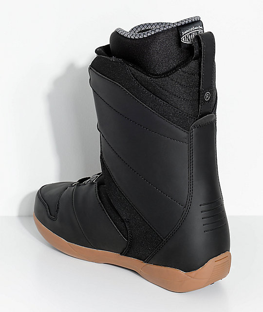 Ride Anthem Black Boa Snowboard Boots
