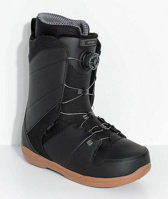 Ride Anthem Black Boa Snowboard Boots