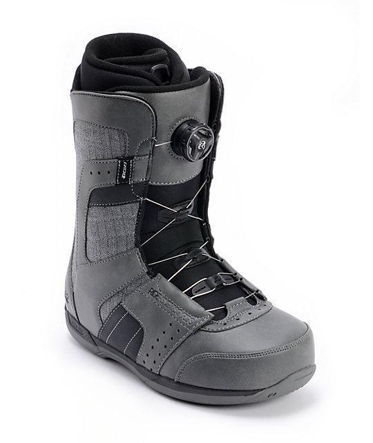 Ride Anthem Boa Grey Snowboard Boot