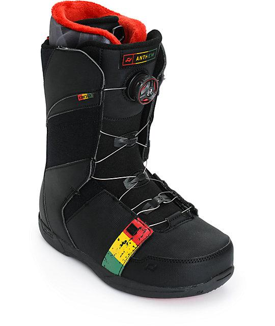 Ride Anthem Rasta Snowboard Boots