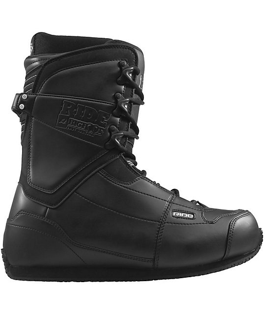 Ride Big Foot Black Snowboard Boot