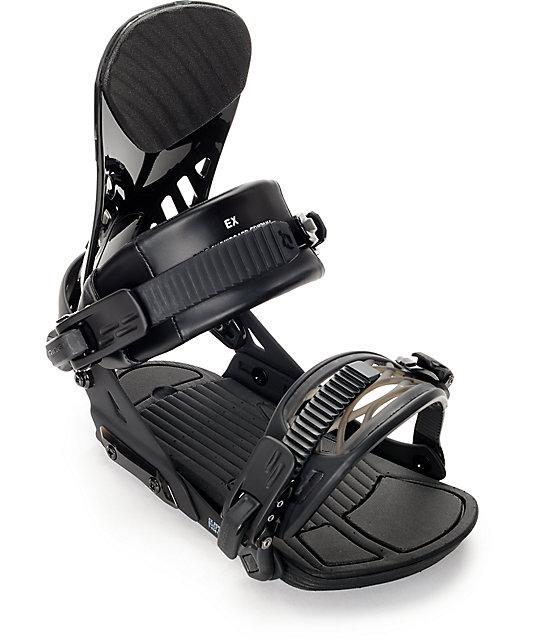 Ride EX Black Snowboard Bindings