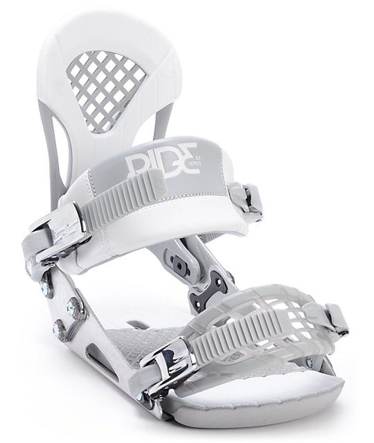 Ride EX Silver Snowboard Bindings