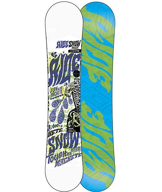 Ride Machete 154cm Wide Mens Snowboard