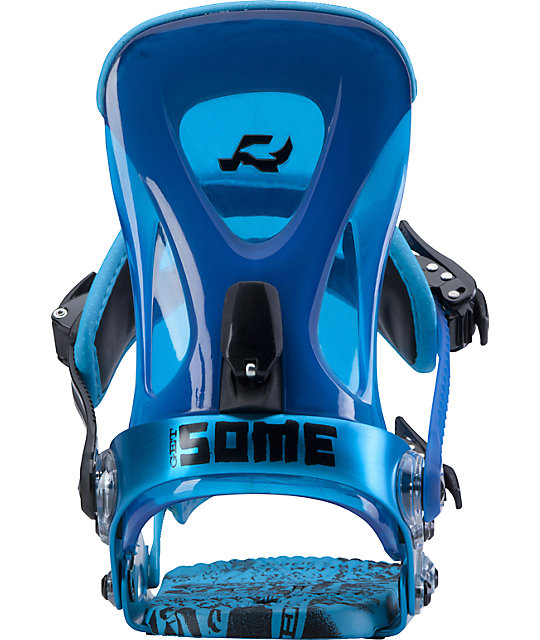 Ride Revolt Cyan Snowboard Bindings