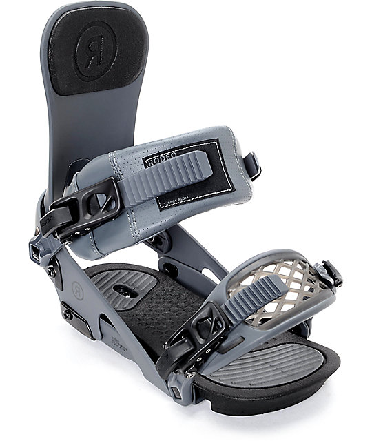 Ride Rodeo Grey Snowboard Bindings