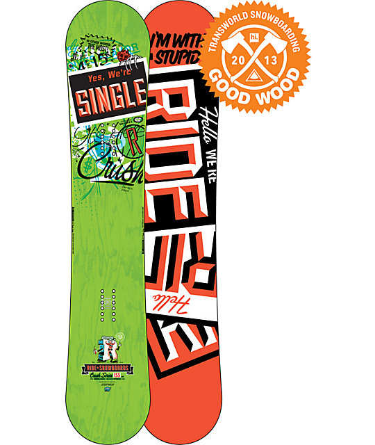 Ride Snowboards Crush 155cm Snowboard