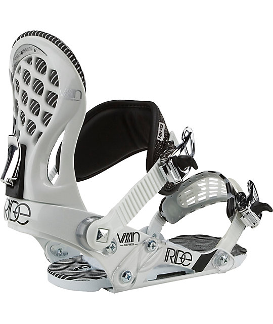 Ride Snowboards VXn White Womens Snowboard Bindings