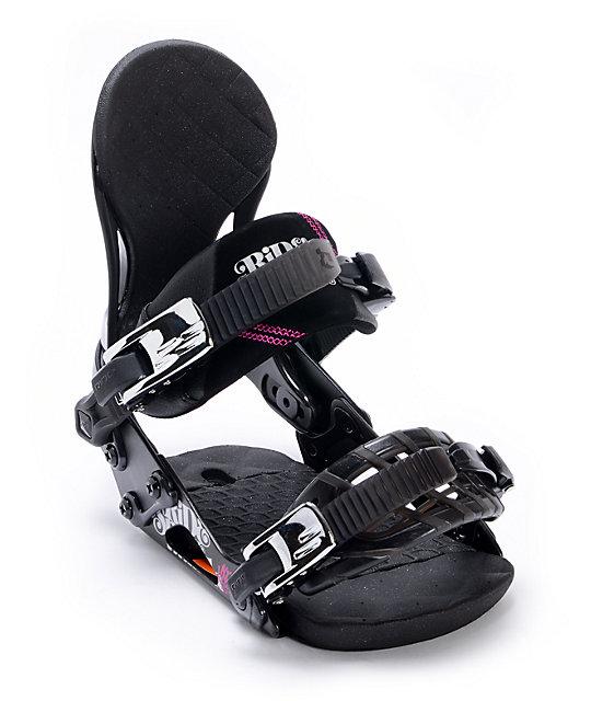 Ride VXn Black Womens Snowboard Bindings