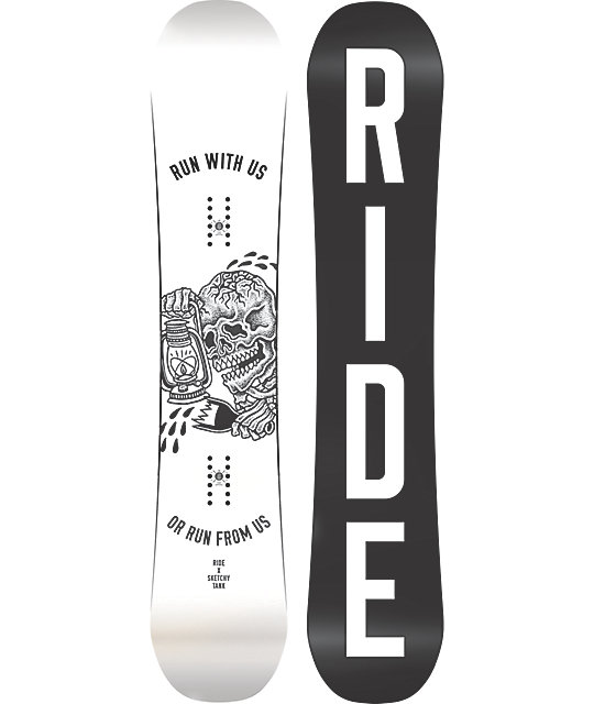 Ride X Sketchy Tank Burnout 160cm Snowboard