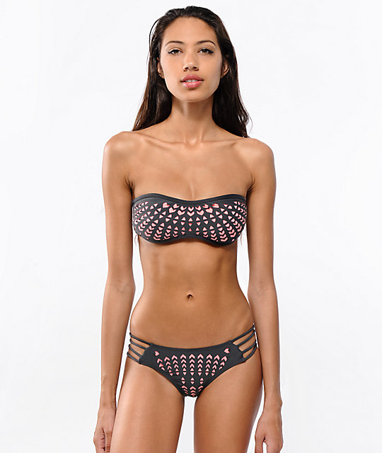 Rip Curl Phoenix Side Strap Cheeky Bikini Bottom
