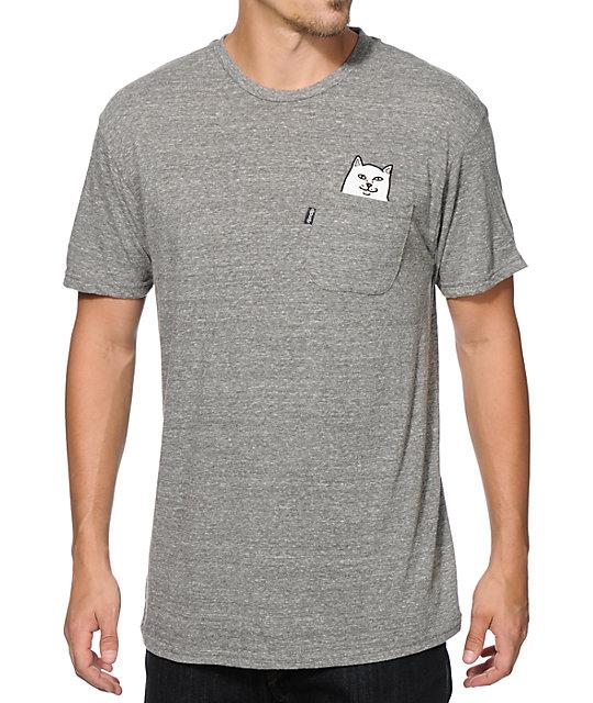 Rip N Dip Lord Nermal Pocket T Shirt At Zumiez Pdp