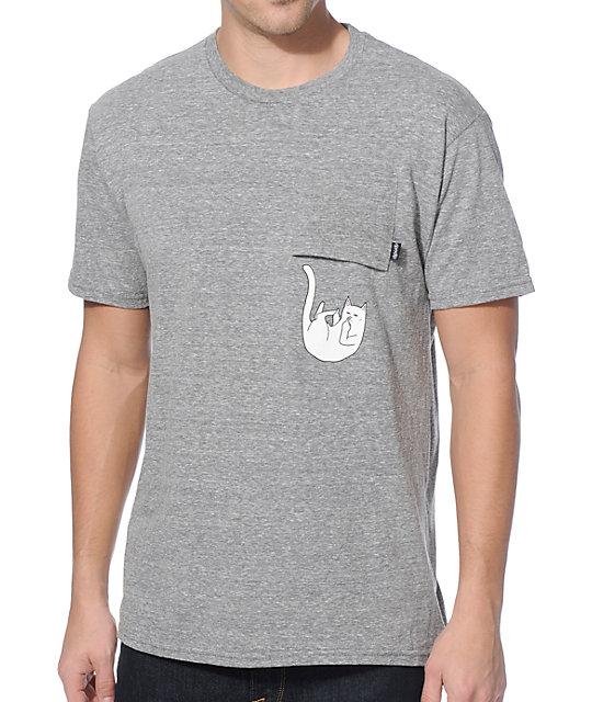 Ripndip falling for nermal pocket t shirt for Bulk pocket t shirts