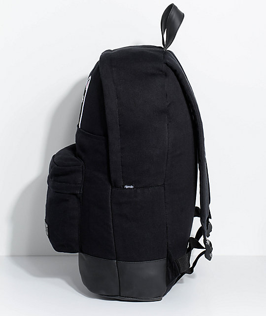 RipNDip Jermal Black Backpack