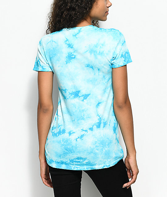 RipNDip Lord Nermal Blue Tie Dye Pocket T-Shirt
