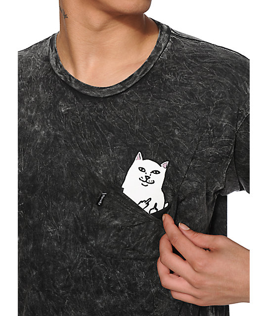 RipNDip Lord Nermal Tie Dye Pocket T-Shirt