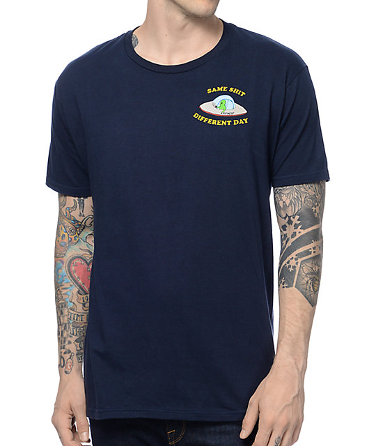 RipNDip Same Shit Navy T-Shirt