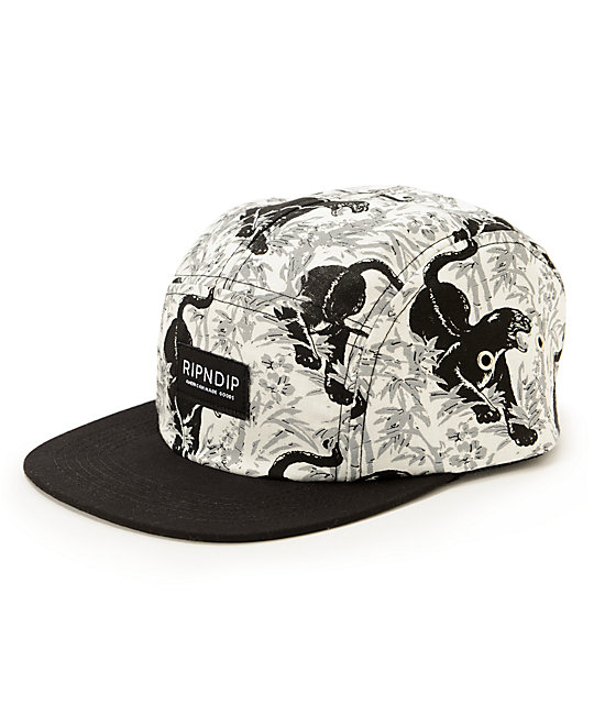 RipNDip Sex Panther 69 5 Panel Hat