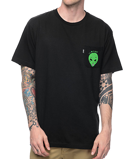 RipNDip We Out Here Black T-Shirt