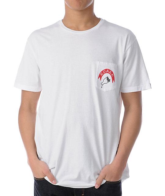 Roark Barfight Pocket White T-Shirt