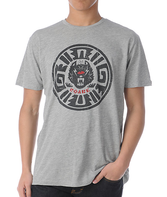 Roark Las Chupacabras Heather Grey T-Shirt