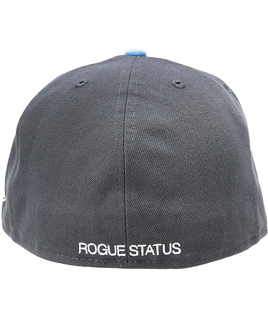 Rogue Status Awol New Era Shadow Grey Fitted Hat