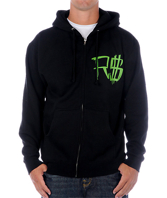 Rogue Status One Mans Trash Black Hoodie