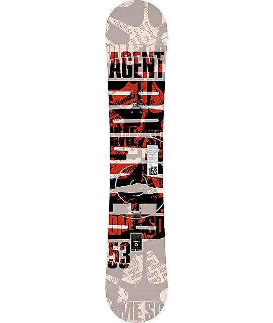 Rome Agent Rocker 153cm Mens Snowboard