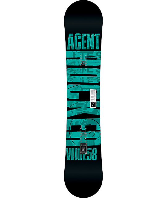 Rome Agent Rocker 158cm Wide Mens Snowboard