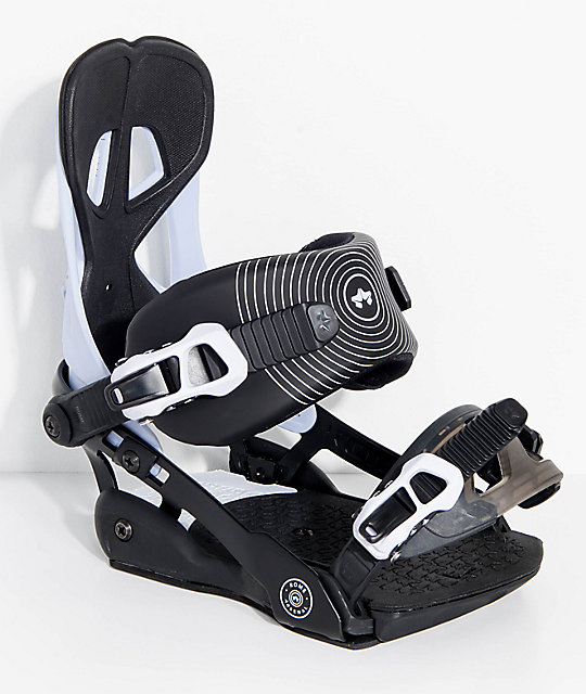 Rome Arsenal White Snowboard Bindings