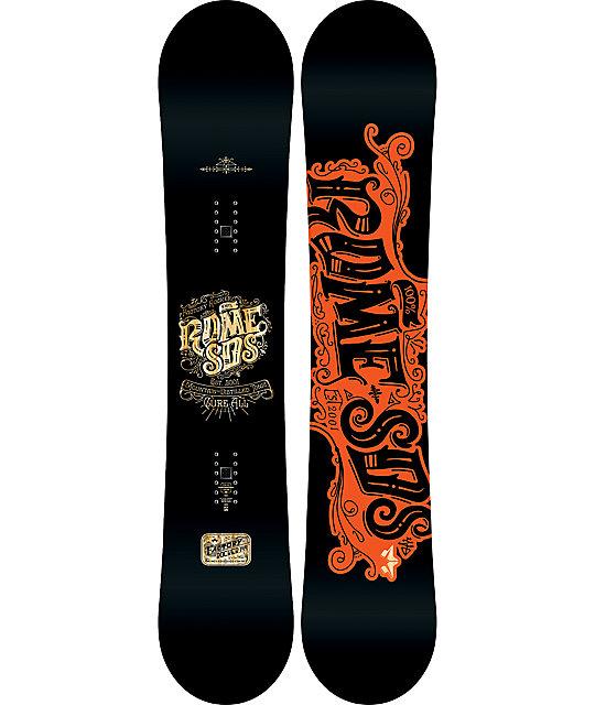 Rome Factory Rocker 149cm Snowboard