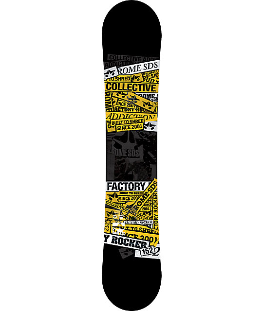 Rome Factory Rocker 152cm Snowboard