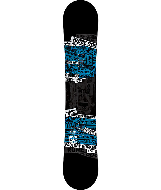 Rome Factory Rocker 161cm Snowboard