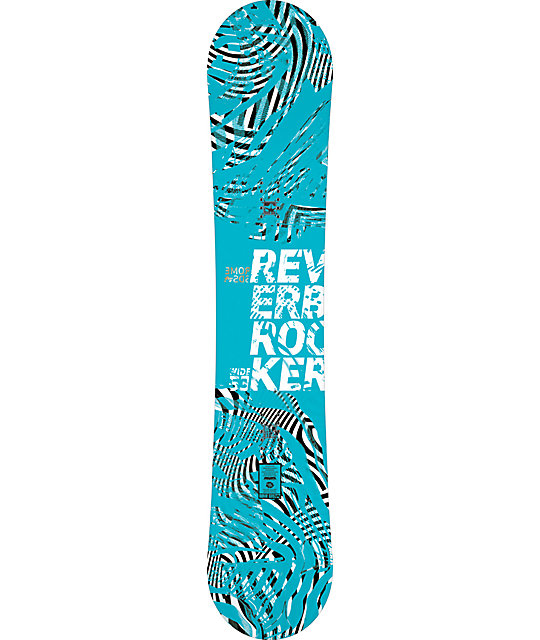 Rome Reverb 153cm Wide Mens Snowboard