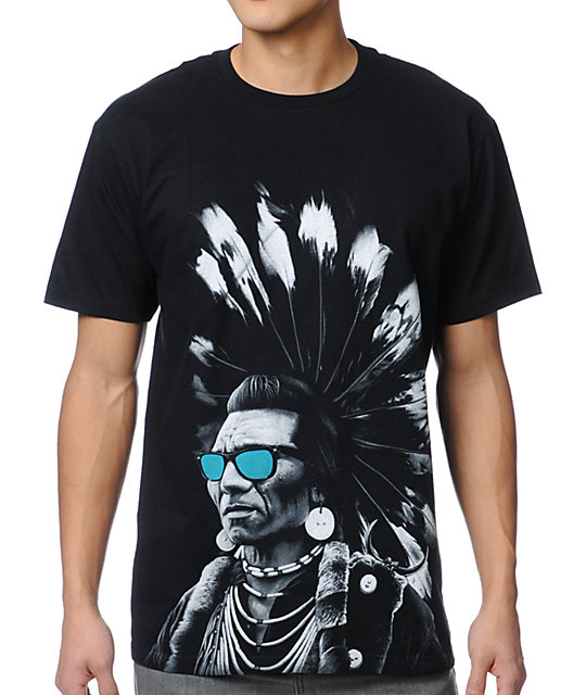 Rook Chief Rocka V7 Black T-Shirt