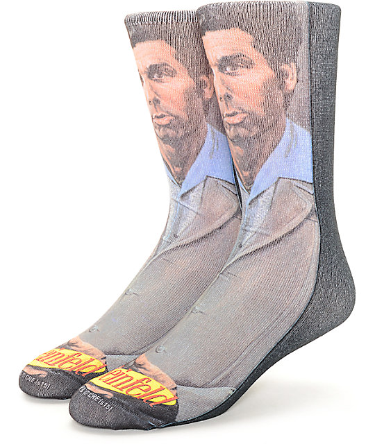 Rook x Seinfeld Kramer Crew Socks