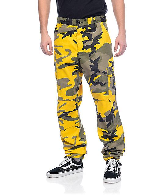 Rothco BDU Stinger Yellow Camo Cargo Pants at Zumiez : PDP