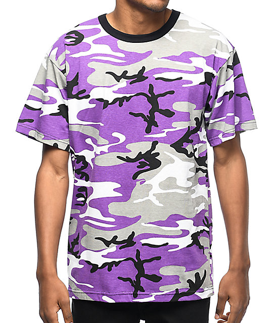 rothco ultra violet camo t shirt at zumiez pdp. Black Bedroom Furniture Sets. Home Design Ideas