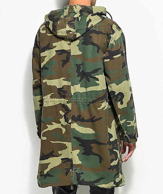 Rothco Vintage M-51 Camo Fishtail Parka Jacket | Zumiez