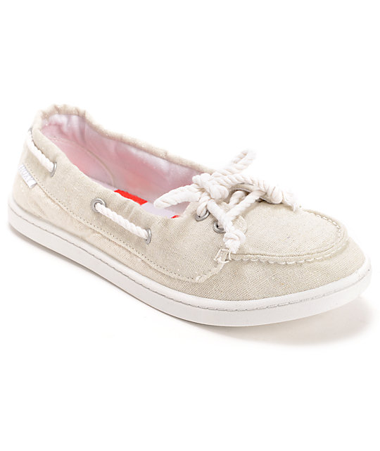 ahoy ii white slip on shoe at zumiez pdp