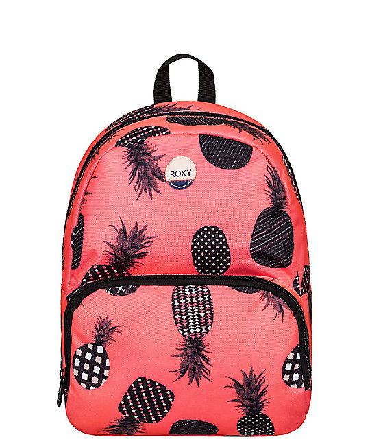 roxy always core pink mini backpack. Black Bedroom Furniture Sets. Home Design Ideas