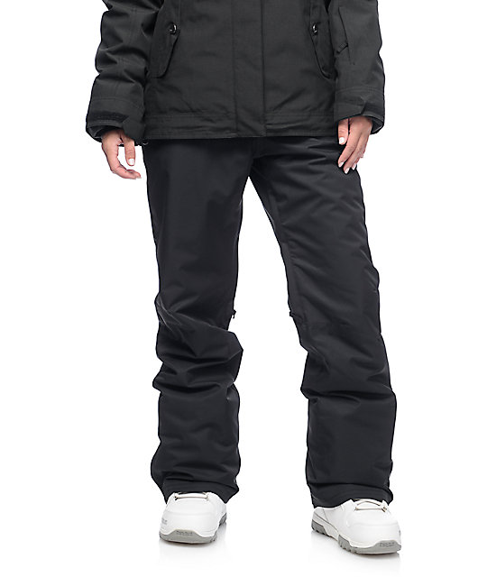 Roxy Backyard Black 10K Snowboard Pants