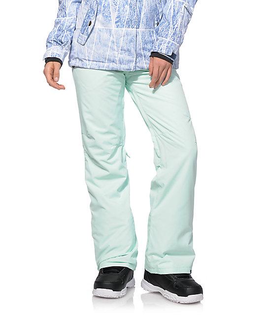 Roxy Backyard Mint 10K Snowboard Pants