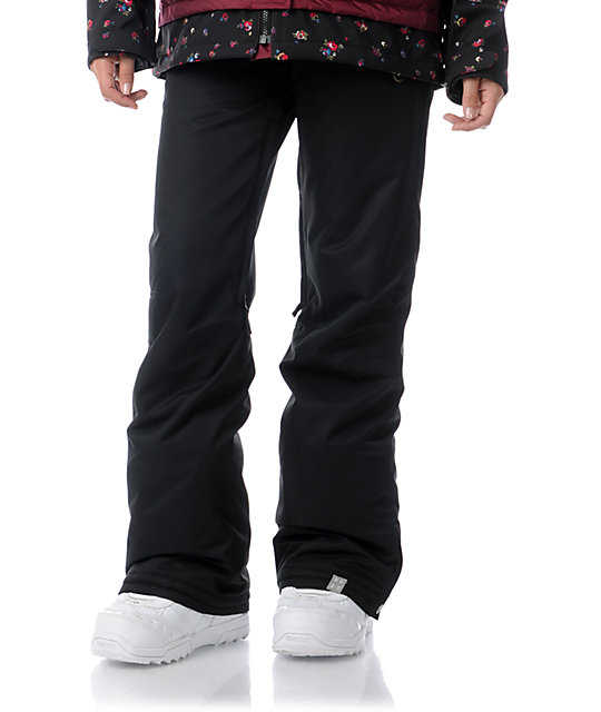 Roxy Evolution Black 8K Snowboard Pants