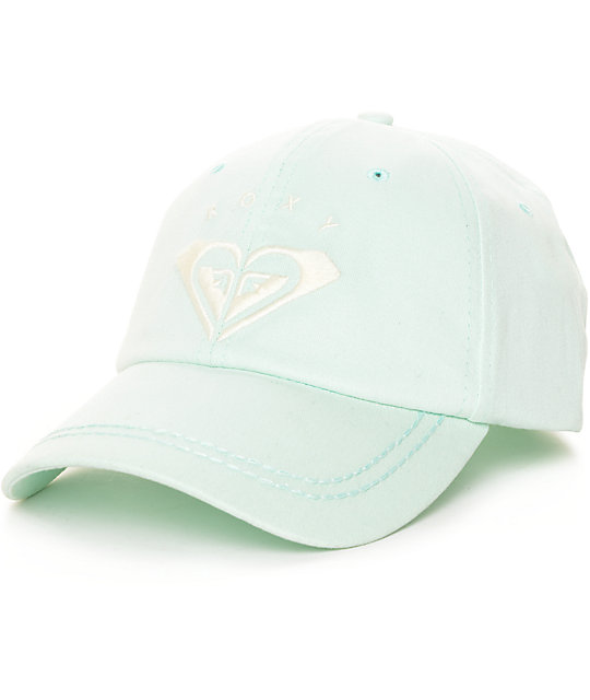 Roxy Extra Innings Mint Baseball Hat